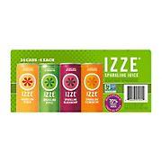 IZZE Sparkling Juice Variety Pack, 24 pk.