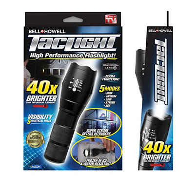 Bell+Howell TacLight High-Performance Flashlight