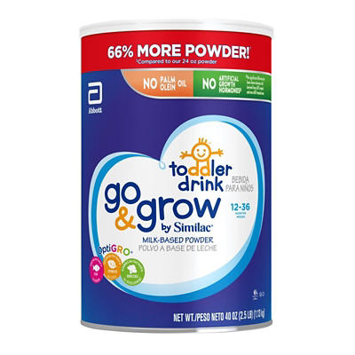 cf5b29c2492 Go   Grow by Similac Toddler Drink Powder