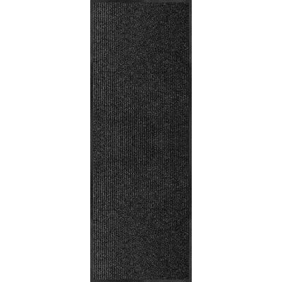 Multy Home Platinum 2' x 6' Utility Runner - Charcoal