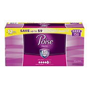 Poise Maximum Absorbency Long Incontinence Pads, 156 ct.