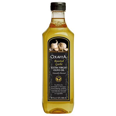 Colavita Roasted Garlic Extra Virgin Olive Oil, 32 fl. oz.
