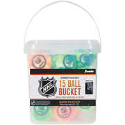 Franklin NHL Extreme Color High-Density Street Hockey Balls, 15 pk.