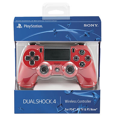 PlayStation DualShock 4 Wireless Controller - Magma Red