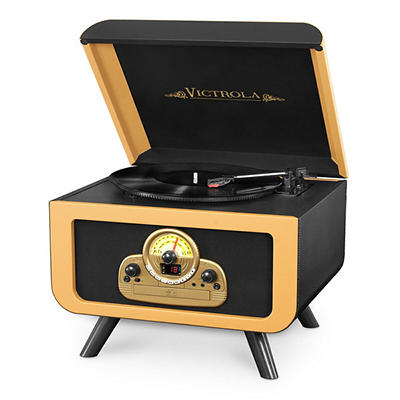 Victrola 5-in-1 Tabletop Record Player with Bluetooth and CD Player