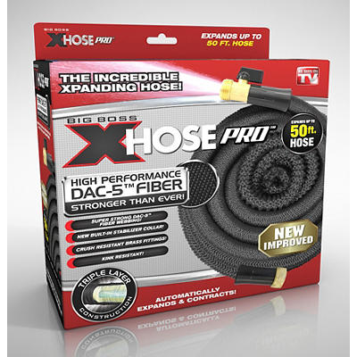 Xhose Pro 50' Expandable Hose - Black