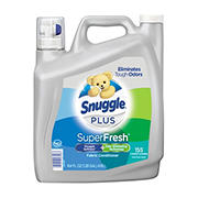 Snuggle Plus Super Fresh Fabric Conditioner, 164 fl. oz.
