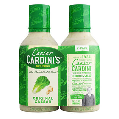 Cardini's Caesar Dressing, 2 pk./20 oz.