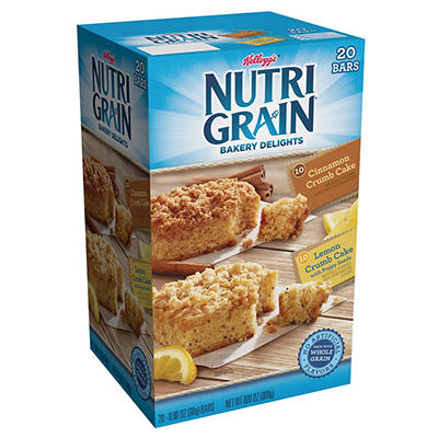 Kellogg's NutriGrain Bakery Delights Combo Pack, 20 ct.