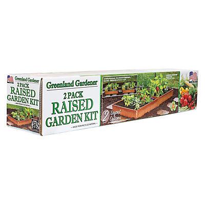 Greenland Gardener Garden Bed Kit, 2 pk.