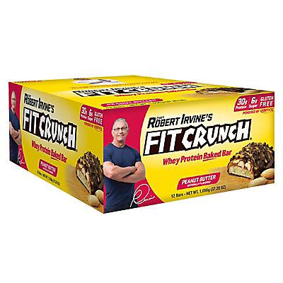 Robert Irvine's Fit Crunch, Peanut Butter, 12 ct.