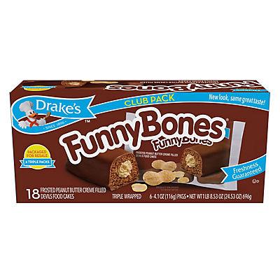 Drake's Funny Bones, 18 ct.