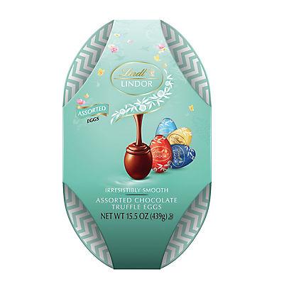 Lindt Lindor Assorted Egg Box, 28 ct.