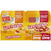 Oscar Mayer Pizza and Nachos Lunchables Variety Pack, 6 pk.