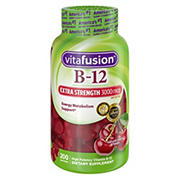 Vitafusion Extra-Strength B12 Gummies, 200 ct.