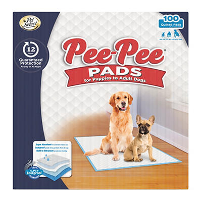 Pet Select Pee-Pee Pads, 100 ct.