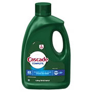 Cascade Complete Gel Dishwasher Detergent, Fresh Scent, 155 oz.