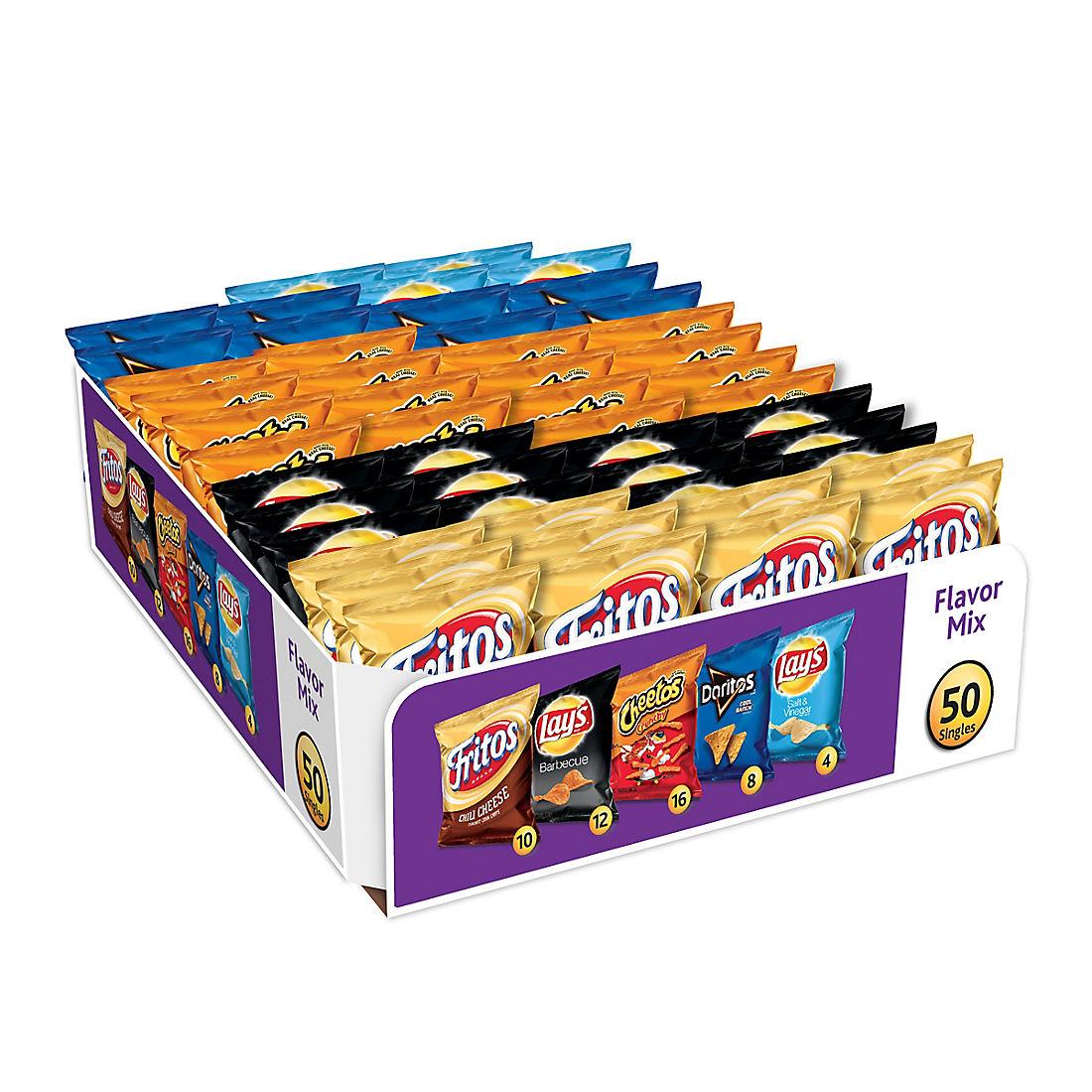 Frito Lay Flavor Mix Variety Pack, 50 pk /1 oz