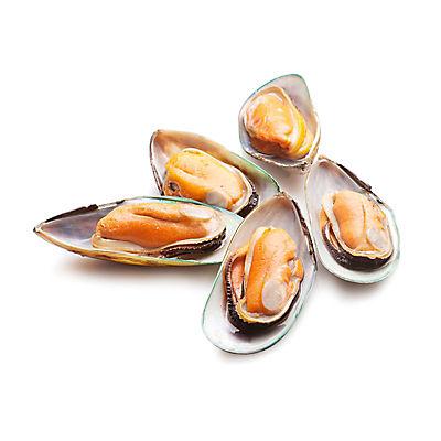 New Zealand Green Shell Mussels, 2 lbs.