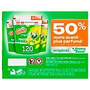 Gain Flings Original HE Laundry Detergent Pacs, 120 ct.