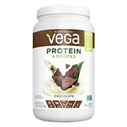 Vega Protein & Greens, Chocolate Flavored, 28.7 oz.