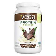 Vega Protein & Greens, Chocolate Flavored, 28.7 oz.