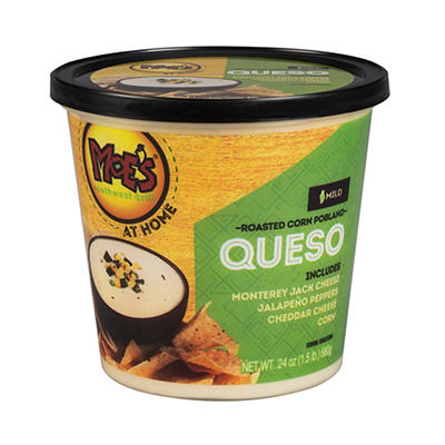 Moe's Southwest Grill Queso Dip, 24 oz.