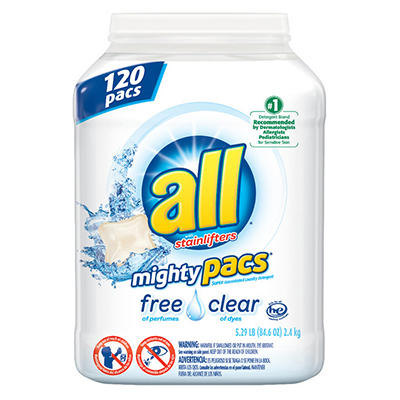 all Free & Clear Mighty Pacs, 120 ct.