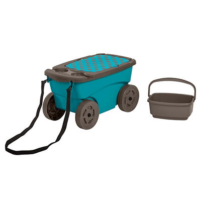 Suncast Cushioned Garden Scooter - Assorted