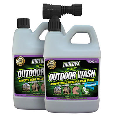 Moldex 56 Oz Outdoor Wash 2 pk BJs WholeSale Club