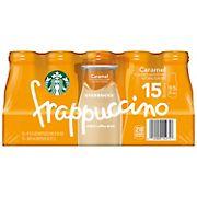 Starbucks Caramel Frappuccino, 15 ct./9.5 oz.