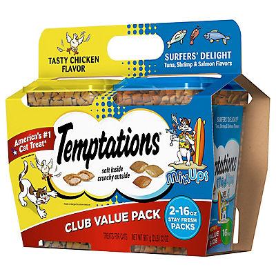 Temptations Treats for Cats, 2 pk./16 oz.