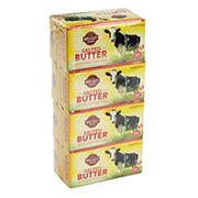 Wellsley Farms Salted Butter Quarters, 4 ct./1 lb.