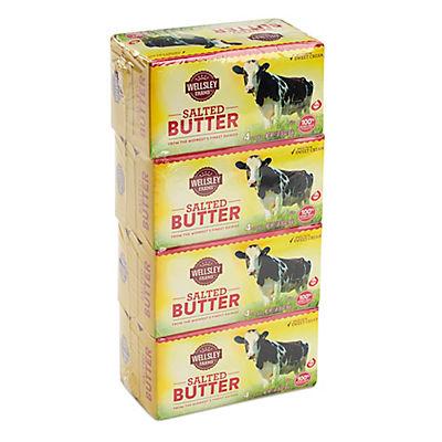 Wellsley Farms Butter Quarters, 4 ct./1 lb.