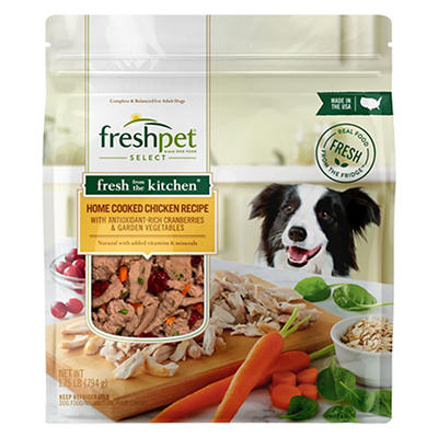 Freshpet Select Fresh from the Kitchen Home-Cooked Chicken Dog Food, 1