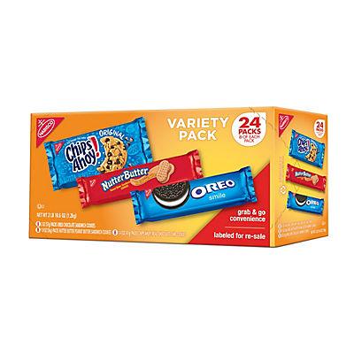 Nabisco Cookie Variety Pack, 24 ct.