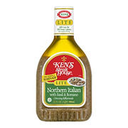 Ken's Steak House Lite Northern Italian Dressing & Marinade, 32 fl. oz.