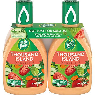 Wish-Bone Thousand Island Salad Dressing, 2 pk./24 oz.