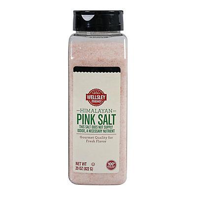 Wellsley Farms Himalayan Pink Salt, 27.9 oz.