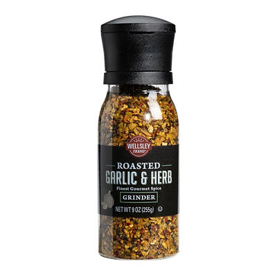 Wellsley Farms Roasted Garlic & Herb Grinder, 8.9 oz.