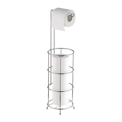 Toilet Tissue Holder with Toilet Tissue Reserve
