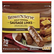 Banquet Brown 'N Serve Sausage Links, 70 ct.