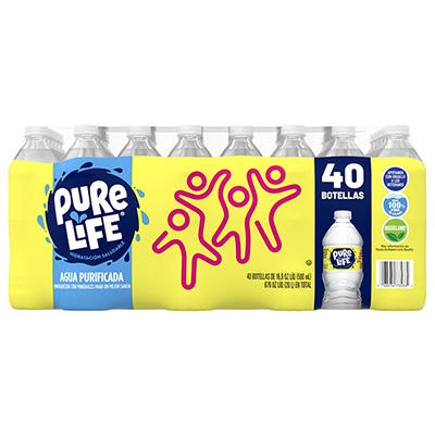 Nestle Pure Life Purified Water, 40 pk./16.9 oz.