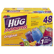 Little Hugs Fruit Barrels Variety Pack, 48 ct./8 oz.