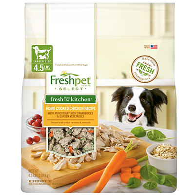 Freshpet Select Fresh from the Kitchen Home Cooked Dog Food, 4.5 lbs.