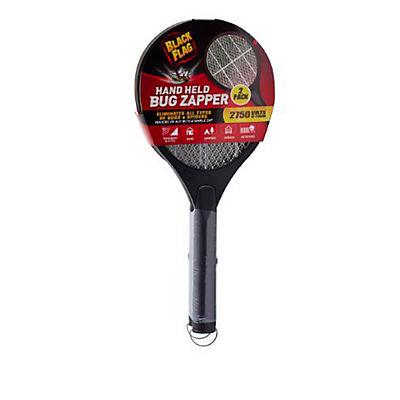 Black Flag Handheld Racket Bug Zappers, 2 pk. - Black