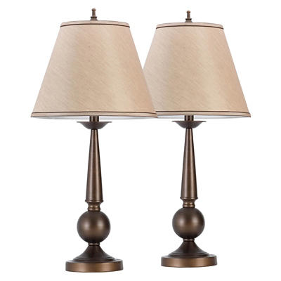 Globe Decorative Table Lamps, 2 pk. - Bronze