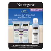 Neutrogena Ultra Sheer Dry-Touch Sunscreen Variety Pack