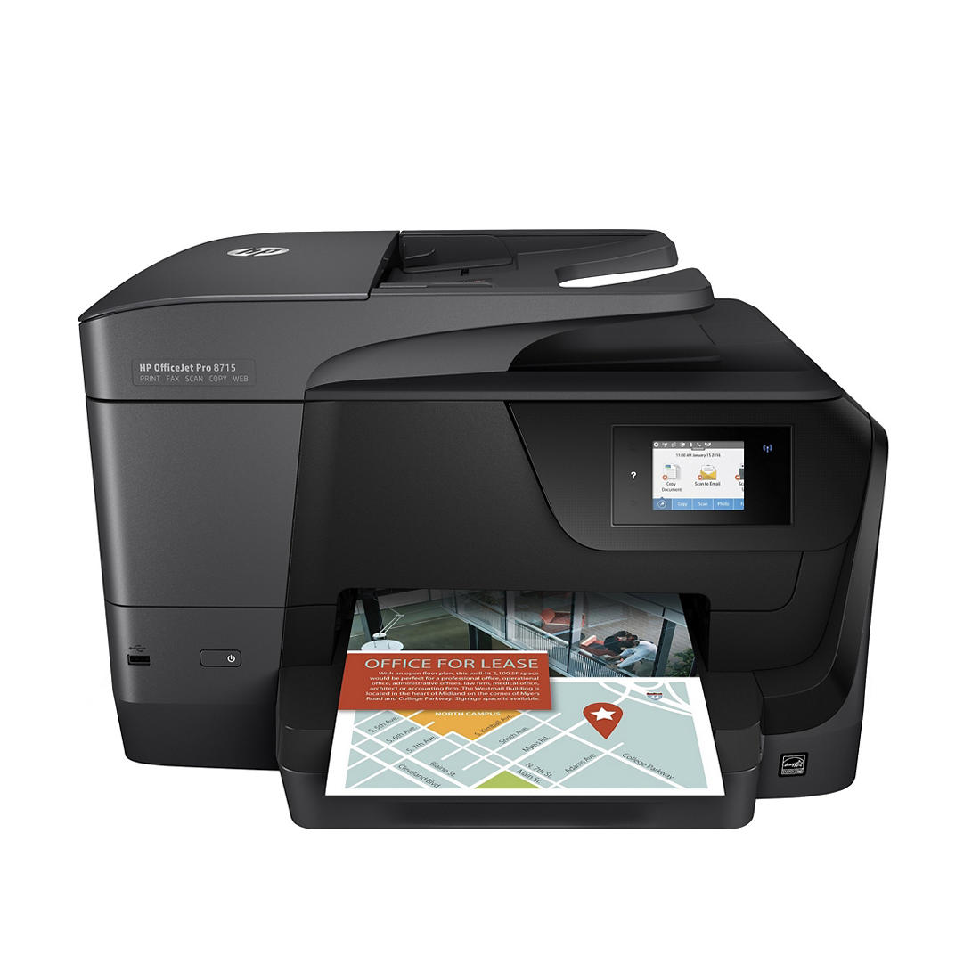 HP OfficeJet Pro 8715 All-in-One Printer with Instant Ink