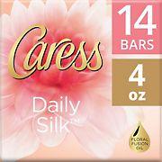 Caress Daily Silk Beauty Bar, 14 ct./4 oz.